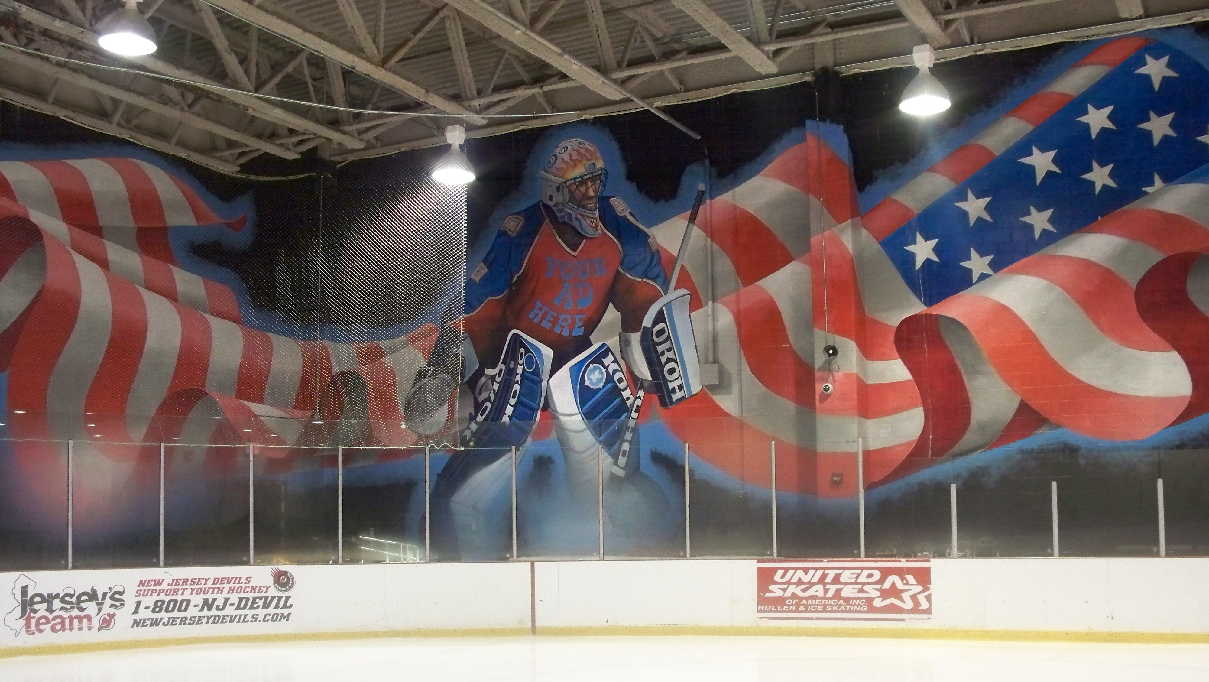 world rinks elite hockey shooters rink is located in woodbridge illinois usa i took these pictures when i was teaching i couldn t believe the detail in the wall murals amazing rj